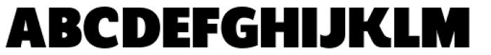 Regan Alt Ultra Font UPPERCASE