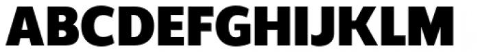 Regan Black Font UPPERCASE