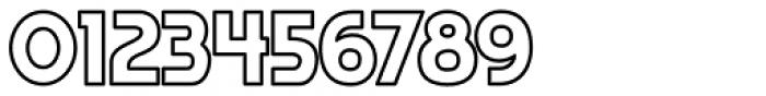 Regeneration Outline Font OTHER CHARS