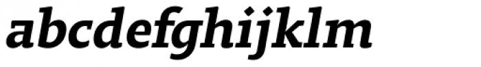 Regime Medium Italic Font LOWERCASE