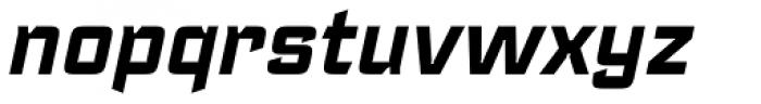 Register Bold Italic Font LOWERCASE
