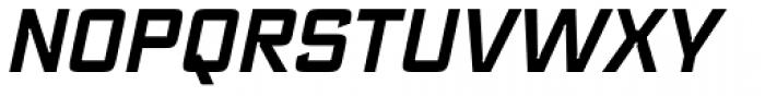 Register DemiBold Italic Font UPPERCASE