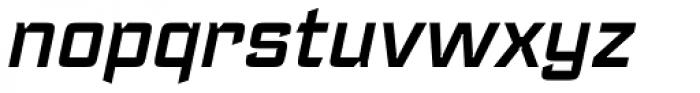 Register DemiBold Italic Font LOWERCASE