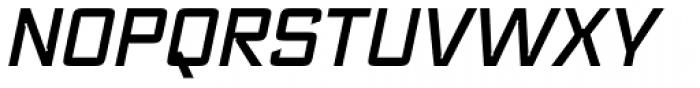 Register Medium Italic Font UPPERCASE