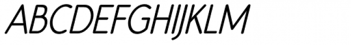 Register Sans BTN Cond Bold Oblique Font UPPERCASE