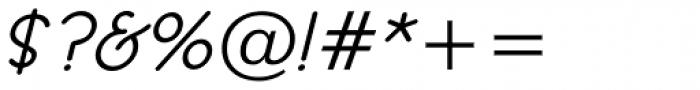 Register Sans BTN Demi Oblique Font OTHER CHARS