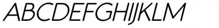 Register Sans BTN Demi Oblique Font UPPERCASE