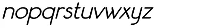 Register Sans BTN Demi Oblique Font LOWERCASE