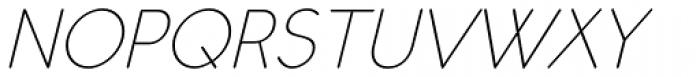 Register Sans BTN Light Oblique Font UPPERCASE