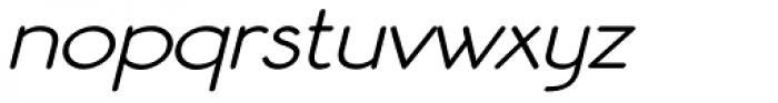 Register Sans BTN Wide Oblique Font LOWERCASE