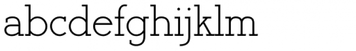 Register Serif BTN Font LOWERCASE