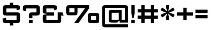 Register Wide DemiBold Font OTHER CHARS