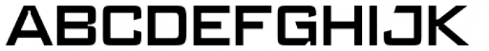 Register Wide DemiBold Font UPPERCASE