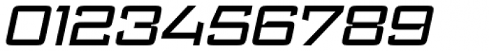 Register Wide Medium Italic Font OTHER CHARS