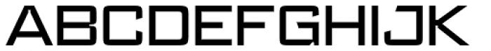 Register Wide Medium Font UPPERCASE