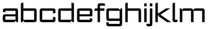 Register Wide Medium Font LOWERCASE