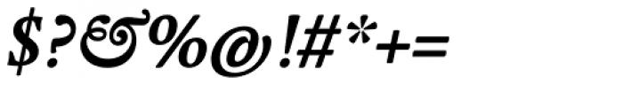 Regula Text Medium Italic Font OTHER CHARS