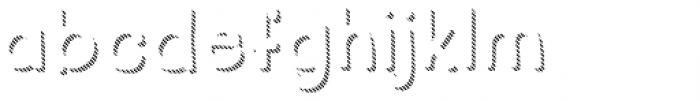 Regular Fashion Shadow Font LOWERCASE
