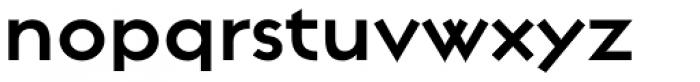 Regulator Bold Font LOWERCASE