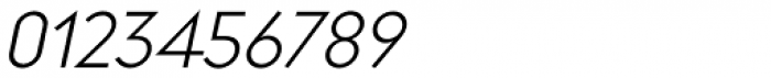 Regulator Light Italic Font OTHER CHARS