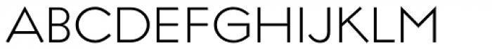 Regulator Light Font UPPERCASE