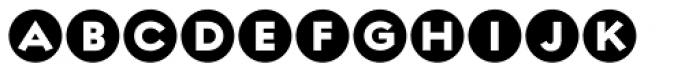 Regulator Nova Cameo Font LOWERCASE