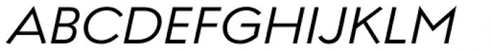 Regulator Nova Medium Italic Font UPPERCASE