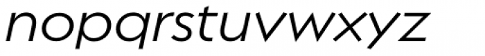 Regulator Nova Medium Italic Font LOWERCASE