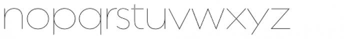 Regulator Nova Thin Font LOWERCASE