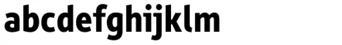 Rehn Condensed Bold Font LOWERCASE