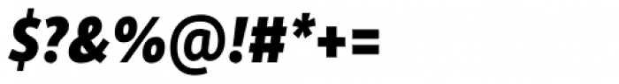 Rehn Condensed ExtraBold Italic Font OTHER CHARS