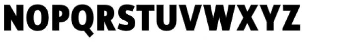 Rehn Condensed ExtraBold Font UPPERCASE