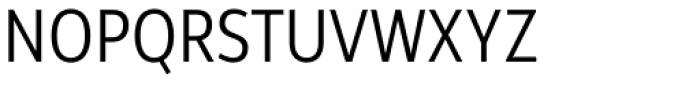 Rehn Condensed Light Font UPPERCASE