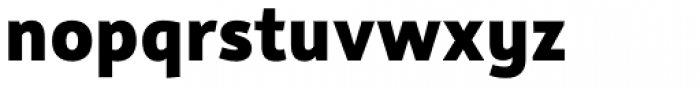 Rehn ExtraBold Font LOWERCASE