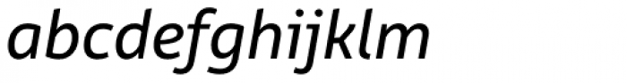 Rehn Italic Font LOWERCASE
