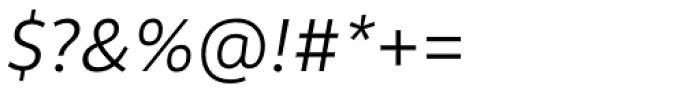 Rehn Light Italic Font OTHER CHARS