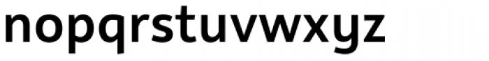 Rehn Medium Font LOWERCASE