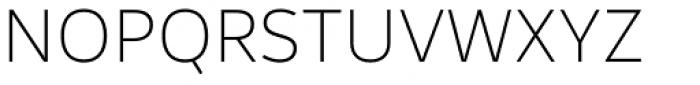 Rehn Thin Font UPPERCASE