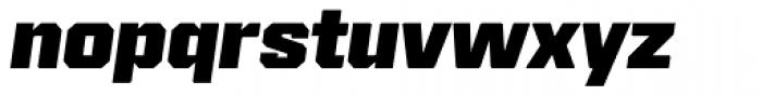 Reileta Extra Bold Italic Font LOWERCASE