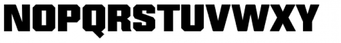 Reileta Extra Bold Font UPPERCASE