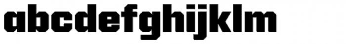 Reileta Extra Bold Font LOWERCASE
