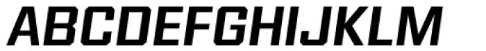 Reileta Semi Bold Italic Font UPPERCASE
