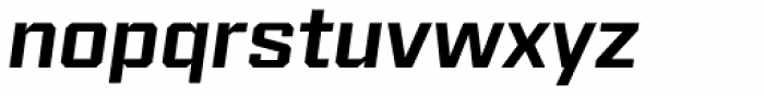 Reileta Semi Bold Italic Font LOWERCASE