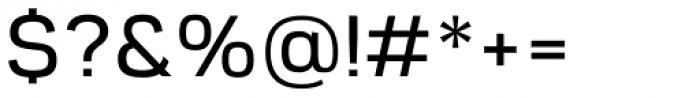 Rein Grotesk Medium Font OTHER CHARS