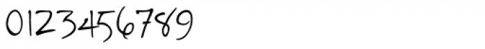 Reinert Upright Font OTHER CHARS