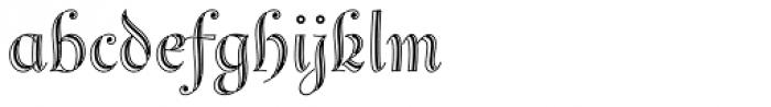 Reinstaedt 1430 Initials Font LOWERCASE