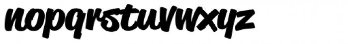 Reklame Script-Bold Font LOWERCASE