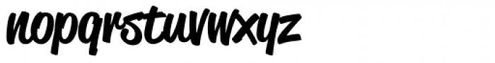 Reklame Script Medium Font LOWERCASE