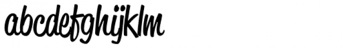 Reklame Script Regular Font LOWERCASE