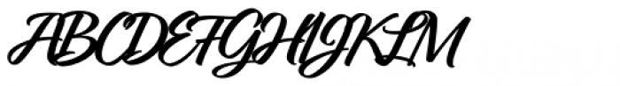 Relation Two Bold Font UPPERCASE